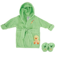 Koala Baby Robe & Booties - Duck