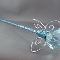 Ice Queen Silver Sceptre Wand