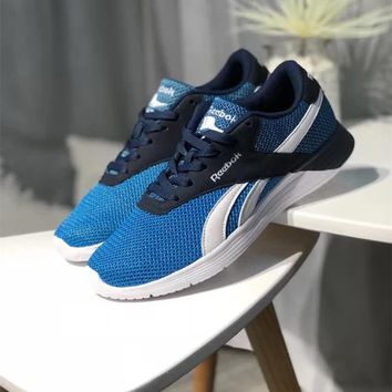 """Reebok"" Men Sport Casual Breathable Mesh Surface Running Shoes Fashion Sneakers"