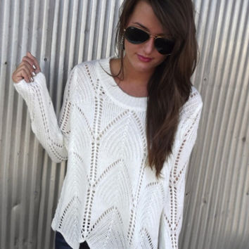 Wave On Wave Sweater | The Rage
