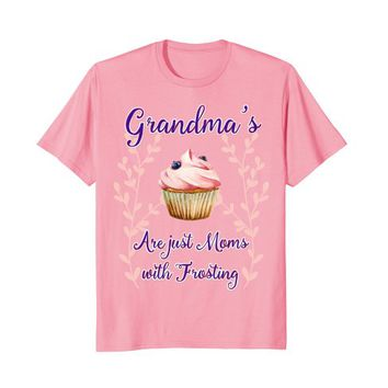 Grandma is Like Mom Frosting T-shirt