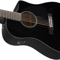 CD-60CE, Black, with Case | Fender Acoustic Guitars