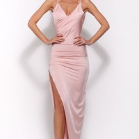 Nice To Meet You Maxi Dress Mauve