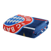 FC Bayern Fleece Cozy Blanket Stripes - Official FC Bayern Online Store