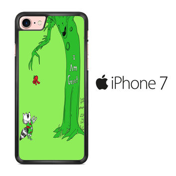I Am Groot Guardians of The Galaxy Giving Tree iPhone 7 Case