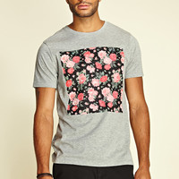 Rose Window Heathered Tee
