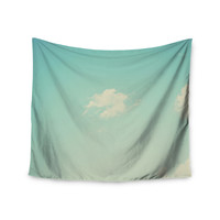 "Libertad Leal ""Cloud 9"" Blue Sky Wall Tapestry"