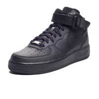 NIKE AIR FORCE 1 MID - BLACK | Undefeated