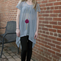 Oversized Trapeze Top