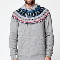 On The Byas Fifty Hoodie - Mens Hoodies - Gray