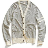 Grey Heather Jersey Cardigan