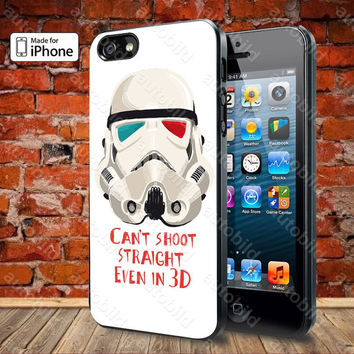 Star Wars Stormtrooper 06 Case For iPhone 5, 5S, 5C, 4, 4S and Samsung Galaxy S3, S4