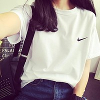 Nike Tommy Men And Women Classic Tee Shirt T Shirt