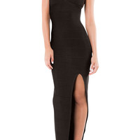 Le Paris Bandage Gown - Black