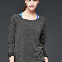 Gap Women Gapfit Breathe Mesh Back Pullover