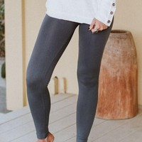 Seamless Leggings - Charcoal
