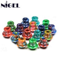 Nigel 510 DDP Resin Drip Tip Mouthpiece Drip Caps for 510 Electronic Cigarette Vape Tank Atomizer