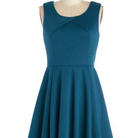 ModCloth Mid-length Sleeveless A-line Twirl This Way Dress