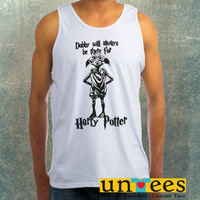 Dobby Will Always be There for Harry Potter Clothing Tank Top For Mens