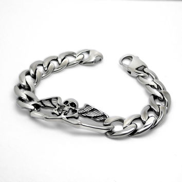 Stylish Awesome New Arrival Hot Sale Shiny Gift Great Deal Titanium Jewelry Bracelet [6542648195]