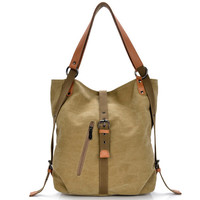 New 2017 backpack vintage canvas women bag shoulder bag women backpack preppy style school bags trav