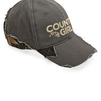 Women's Country Girl® Frayed Camo Cap