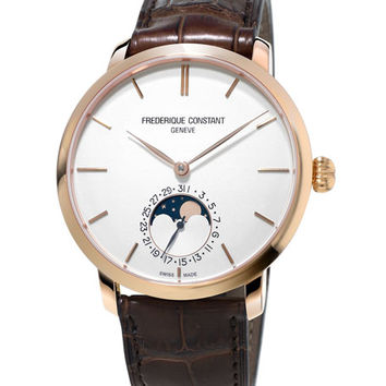 Frederique Constant Gents Slimline Manufacture Moonphase Watch