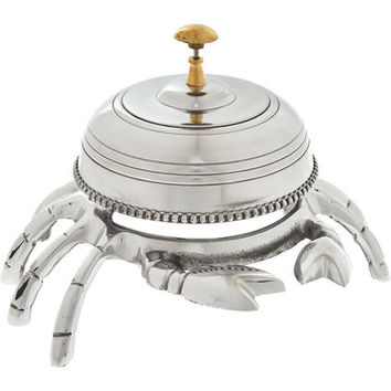 Silver-Tone Crab Desk Bell - Gifts for the Gentleman - Christmas Gifts - Christmas - TK Maxx