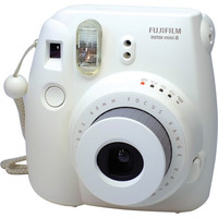 Fujifilm INSTAX Mini 8 Instant Film Camera (White) 16273398 B&H