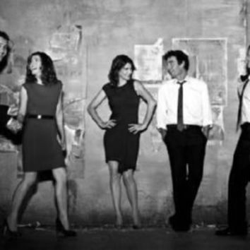 "How I Met Your Mother Poster Black and White Poster 24""x36"""