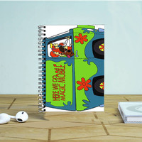 Mystery Machine Van Scooby Doo Photo Notebook Auroid