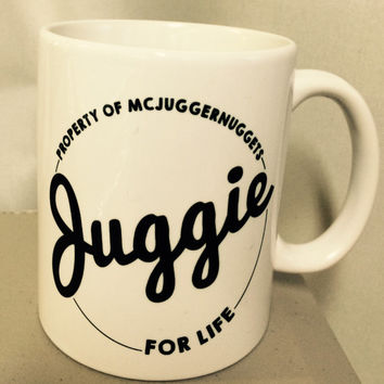 JUGGIE for Life and Gaming is Gonna be my JOB  Mug