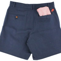 Freedom Shorts in Annapolis Navy Twill by Blankenship Dry Goods - FINAL SALE