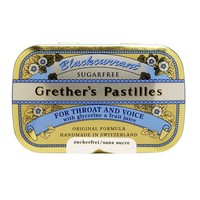 Grether's Pastilles for Throat and Voice - Blackcurrant - Sugar Free