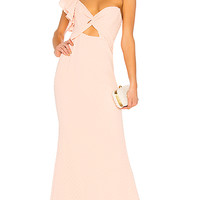 Privacy Please Richa Gown in Blush