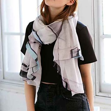 Good & Co. And Sons XL Scarf - Black & White One
