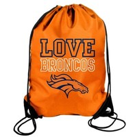 Denver Broncos Women's Love Drawstring Backpack