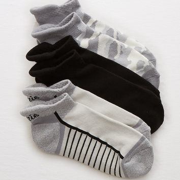 Aerie Sporty Socks, Glacier Gray