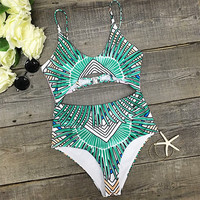 Cupshe Right to the Cut One-piece Swimsuit