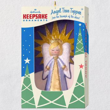 Nifty Fifties Keepsake Angel Tree Topper Ornament