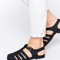 ASOS FORESURE Jelly Gladiator Sandals