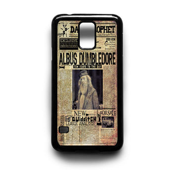 Harry Potter Daily Prophet Samsung Galaxy S3 S4 S5 Note 2 3 4 HTC One M7 M8 Case