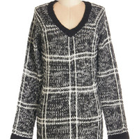 ModCloth Long Long Sleeve Hometown Drive Sweater