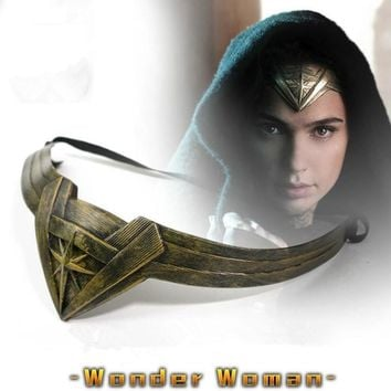 DC Movie Justice League Wonder Woman Cosplay Props Headdress Anime Accessories Hairpin Superman VS Batman Christmas Gift