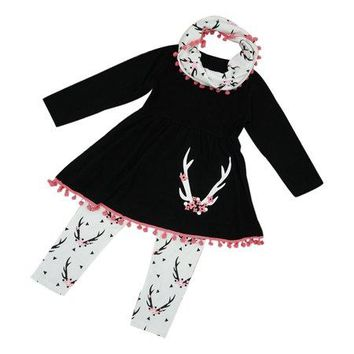 Baby Girl Clothes : Wildlife Tunic Dress Set