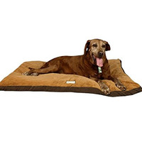 Armarkat Brown Pet Bed 47-Inch by 36-Inch by 5-Inch