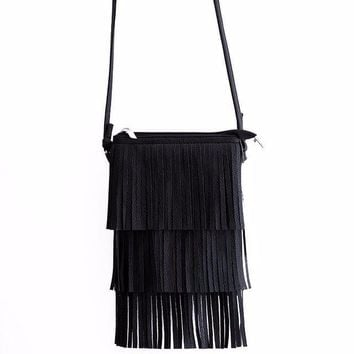 Tova | 'Triple Fringe' Bag
