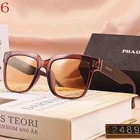 Perfect Prada Women Men Fashion Summer Sun Shades Eyeglasses Glasses Sunglasses