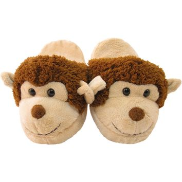 Plush Animal Kids Slippers