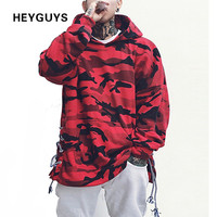 red blue camouflage hoodie men fashion sweatshirts orignal design casual suit pullover for me autumn